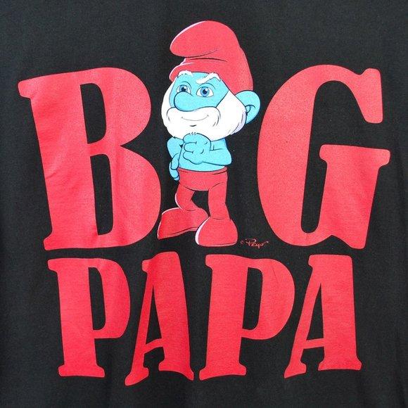 The Smurfs 'Big Papa' Papa Smurf Graphic Tee